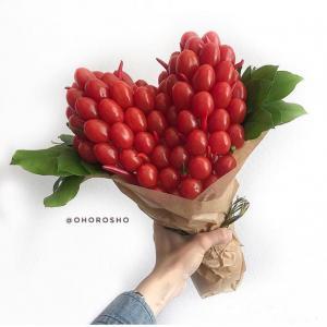 Букет из помидоров черри Сердцеед