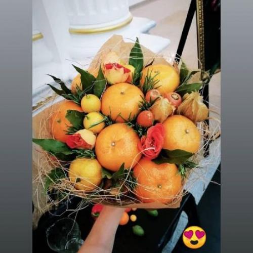 Отзыв о букете с морковью и апельсинами