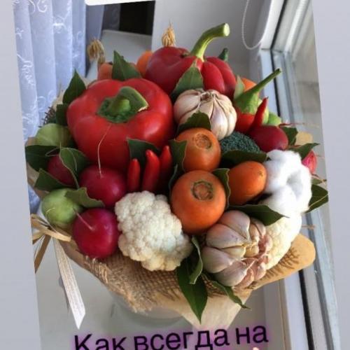 Отзыв о букете Любовь-морковь