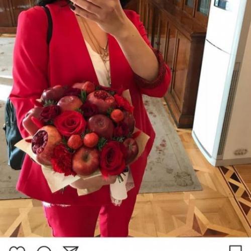 Отзыв-3 о букете Красный бархат