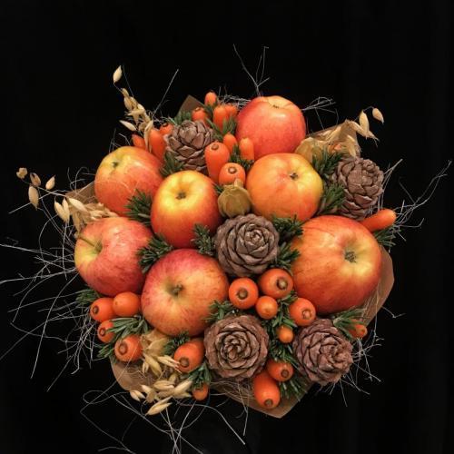 букет Яблочный спас Очень хорошо