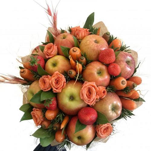 букет Морковно-яблочный фреш Очень хорошо
