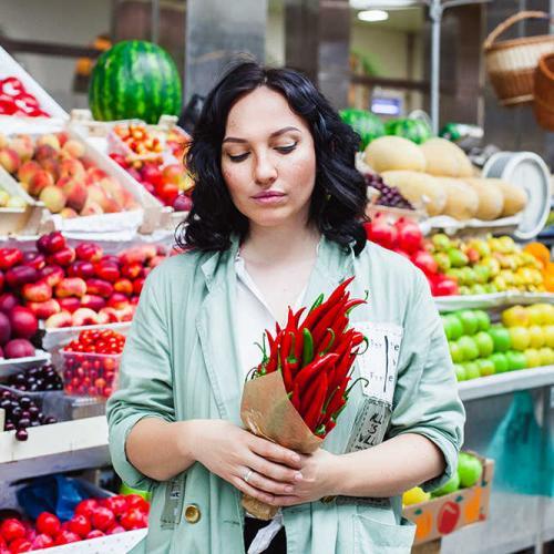 2 способа улучшить букет из фруктов и овощей