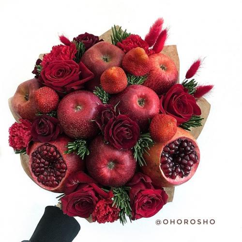 Как хранить фруктовый букет
